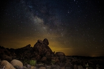 My first galaxy shoot taken at Joshua Tree California OC