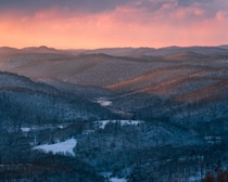 My First image that Ive taken that I felt confident enough to offer as a limited edition Sunset of Burnsville Valley West Virginia