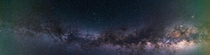 My First Panorama of the Northern Hemisphere Milky Way