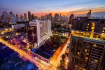 My first picture of Bangkok