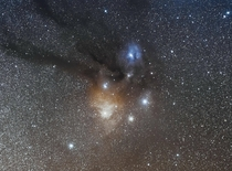 My first picture of the Ophiuchus Molecular Cloud