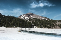My first post here Near the top of Lassen Volcanic National Park California July