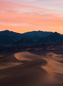 My first sunrise at Death Valley