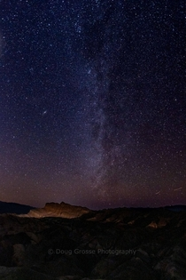 My first time trying astrophotography Death Valley National Park Gear used Pentax K- Sigma -mm lens Pentax O-GPS