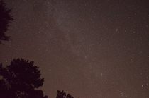 My first try at astrophotography and I got the Milky Way x