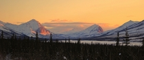 My first upload on this forum Along the Dalton Highway Alaska in February