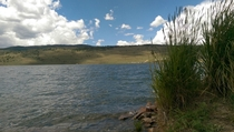 My fishing spot this weekend in northern Colorado