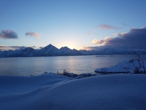 My front yard Northern Norway
