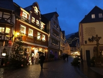 My GF snapped this tonight in Bernkastel-Kues Rheinland-Pfalz OC