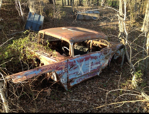 My grandfathers abandoned race car in tennessee