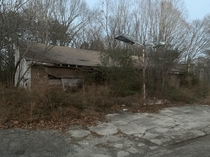 My grandfathers gas station in North Carolina abandoned since the s