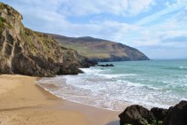My happy place A tiny beach pullout near Coumeenole Dingle Peninsula County Kerry Ireland