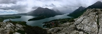 My hike this morning in Waterton Lakes National Park Canada