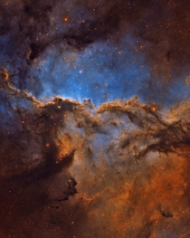 My  hour exposure of the Dueling Dragons of Ara - a star forming region  light years away
