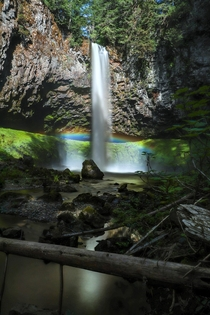 My kind of pot of gold at the end of the rainbow - Gifford Pinchot National Forest WA