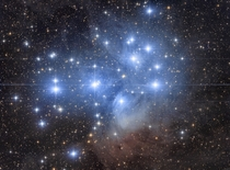 My large Pleiades mosaic featuring a range of reflection nebulae in Taurus