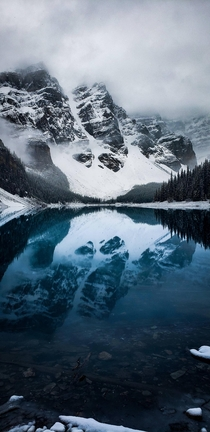 My last day in Alberta stopped by Moraine Lake