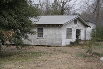 My maternal grandparents house My uncle inherited it its been empty since - or so House is in Hodge Louisiana