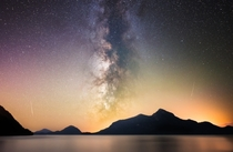 My most detailed Milky Way shot yet Porteau Cove Provincial Park BC
