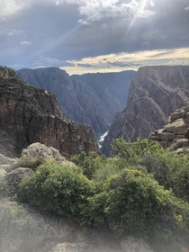 My new wallpaper - Black Canyons in Gunnison CO USA  x