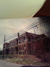 My old school in youngstown ohio Madison elementary now spooky looking