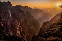 My own take on Yellow Mountain in Huangshan China