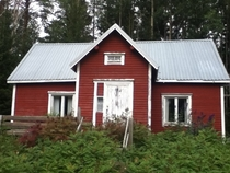 My Pappas childhood home km from Ruuki Finland x