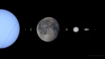 My Photo of the Solar System in
