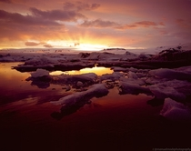 My second jesus christ moment shooting Jokulsarlon Glacier Lagoon on MF velvia slide film Iceland bonus fullres of previous image in comment