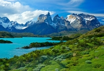 My shot of Los Cuernos and Lago Pehoe in Patagonian Chile