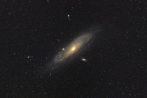 My shot of the Andromeda Galaxy M from a few nights ago