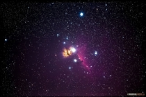 My shot of the Horsehead and Flame nebula