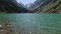 My Summer Trip to the French Pyrenees Notice the Glaciers behind