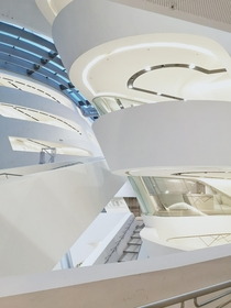 My take on the Library WU in Vienna Zaha Hadid