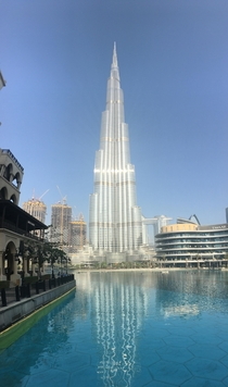 My third business trip to Dubai and the Burj Khalifa never ceases to amaze me