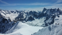 My trip to the top of Mont Blanc