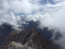 My view from Zugspitze last Saturday x