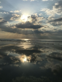 My wife took this picture our last morning at St Augustine Beach Florida