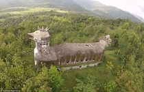 Mysterious abandoned Chicken Church built in the Indonesian jungle by man who had a vision from God  more in comments