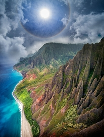 N Pali Coast Kauai Hawaii USA Picture by Ignacio Palacios