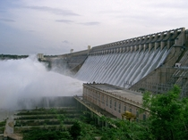 Nagarjuna Sagar Dam Telangana South India