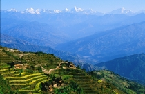 Nagarkot Nepal Bonus view of MtEverest