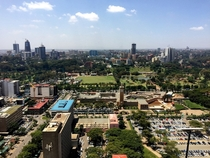 Nairobi Kenya CBD and Upperhill area