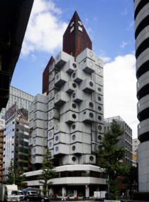 Nakagin Capsule Tower  Tokyo Its borderline abandoned People are still trying to save it Details in comments