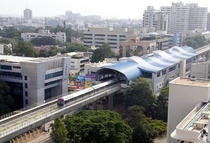 Namma Metro Elevated Subway - Bangalore India