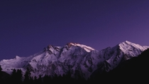 Nanga Parbat - The Killer Mountain Gilgit Baltistan Pakistan at sunset IGhalftonepixel
