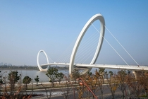 Nanjing Eye Pedestrian Bridge Nanjing China