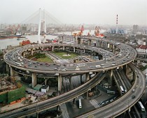 Nanpu Bridge Interchange Shanghai