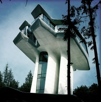 Naomi Campbells crazy spaceship house in Russia  by Zaha Hadid