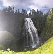 Narada Falls at Mt Rainier National Park in Washington